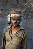 Minas de carbón en la India Imagen de archivo libre de regalías