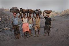 Minas de carbón en la India Fotografía de archivo