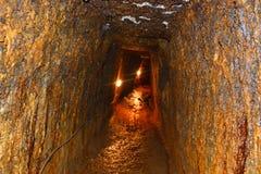 Minas de ouro romanas em Rosia Montana, montanhas de Apuseni, a Transilvânia imagens de stock royalty free