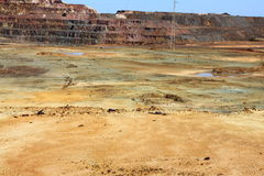 Minas de Riotinto, Nerva. Huelva province, Andalus Royalty Free Stock Photo