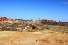 Minas de Riotinto, Nerva. Huelva-Provinz, Andalusien, Spanien Lizenzfreie Stockbilder