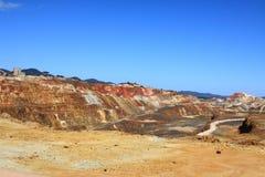Minas de Riotinto, Nerva. Huelva-Provinz, Andalusien, Spanien Lizenzfreies Stockbild