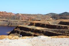 Minas de Riotinto, Nerva. Huelva-Provinz, Andalusien, Spanien Stockfotografie