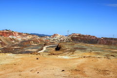 Minas de Riotinto, Nerva. Province de Huelva, Andalousie, Espagne Images libres de droits