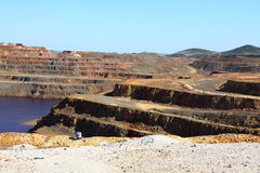 Minas de Riotinto, Nerva. Province de Huelva, Andalousie, Espagne Photographie stock
