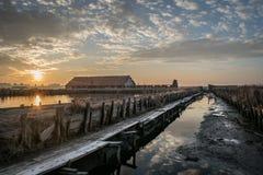 Minas de sal de Burgas da vista seguinte Imagem de Stock