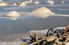Minas de sal em Colômbia fotografia de stock royalty free