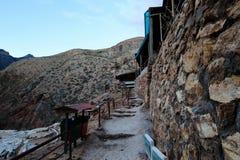 Minas de sal no Peru fotografia de stock
