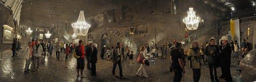 Minas de Wieliczka Foto de archivo libre de regalías