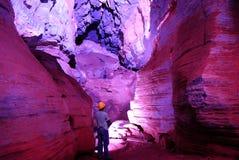 Minas Gerais cave. Cave Maquine. Cordisburgo city Minas Gerais Estate. Brazil Royalty Free Stock Photos