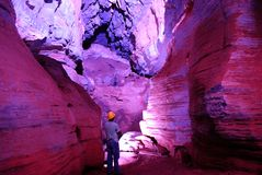 Minas Gerais grotta Royaltyfria Foton