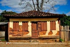 Minas Gerais Historical build. Historical house build at Estrada Real. Espinhaço Mountains. Tapera district at Minas Gerais Estate. Brazil Royalty Free Stock Images