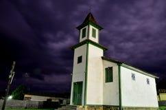 Minas Gerais Historical church. Historical church build at Estrada Real. Espinhaço Mountains.  São João da Chapada.  district of Diamantina City, Minas Gerais Royalty Free Stock Photos