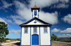 Minas Gerais Historical church. Historical church build at Estrada Real. Espinhaço Mountains.  SOPA.  district of Diamantina City, Minas Gerais Estate. Brazil Royalty Free Stock Photo