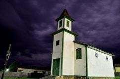 Minas Gerais Historical kyrka Royaltyfria Foton