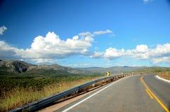 Minas Gerais Road imagen de archivo libre de regalías