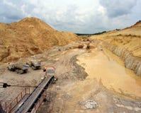 Minas industriales fotos de archivo