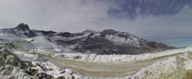 Minas no Chile fotografia de stock