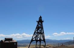 Minas velhas no montículo Montana Fotografia de Stock
