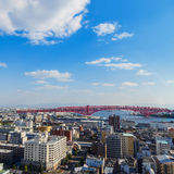 Minato Bridge in Osaka, Japan Stock Image