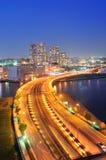 Minato mirai bridge in Yokohama, Japan Stock Images