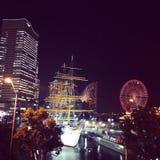 Minatomirai Photos libres de droits