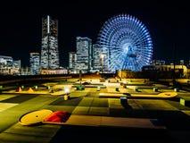 Minatomirai, Yokohama Ιαπωνία στοκ φωτογραφία