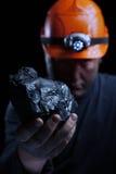 Minatore delle miniere di carbone Fotografie Stock Libere da Diritti