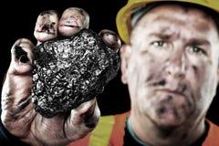 Minatore di carbone fotografia stock libera da diritti