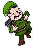 Minatore di Elf Fotografia Stock
