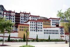 A minature Potala Palace Royalty Free Stock Images