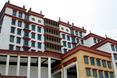 A minature Potala Palace. Potala Palace At Macau's Fishermen's Pier royalty free stock photo