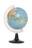 Minature world globe stock images