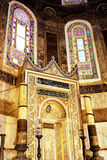 Minbar at Hagia Sophia Royalty Free Stock Photography