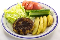 Mince cutlet. This is a picture of mince cutlet for dinner one day Stock Images