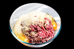Mince ingredients Royalty Free Stock Photo