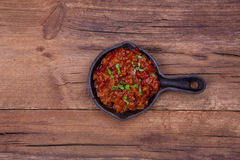 Mince meat cooked Stock Images
