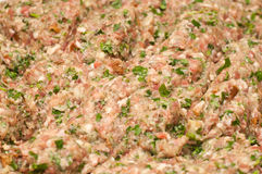 Mince meat for meatball Royalty Free Stock Photography