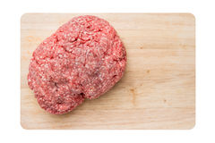 Mince meat for meatloaf Stock Photography