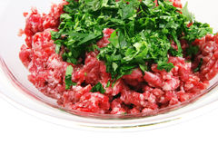 Mince meet Royalty Free Stock Photography