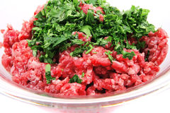 Mince meet close up Stock Photography