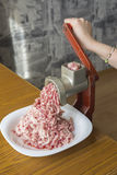 Mince mincer Stock Photography