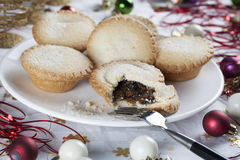 Mince Pie Obraz Stock