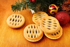 Mince pie Royalty Free Stock Photography
