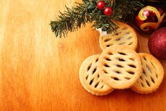 Mince pie Royalty Free Stock Image