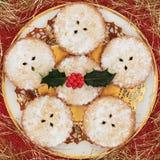 Mince pie di Natale Fotografia Stock