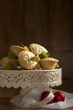 Mince Pie Display Royalty Free Stock Image