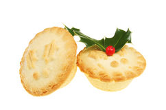 mince pie dwa Obraz Royalty Free