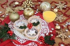 Mince Pie i jajecznik Zdjęcie Royalty Free