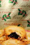 Mince pie inglesi Fotografia Stock Libera da Diritti